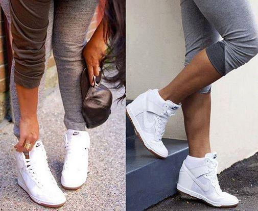 buty sportowe na koturnie