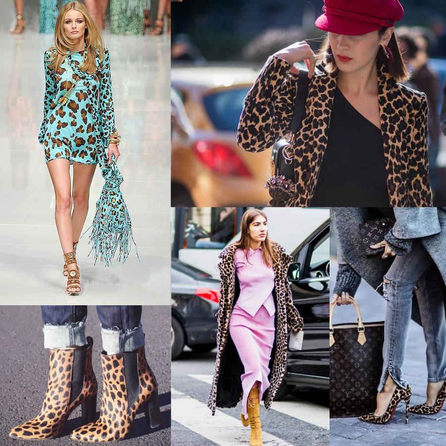 stylizacje w panterkę, buty panterka, płaszcz panterka
